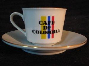 Diamante Café De Colombia Cup & Saucer