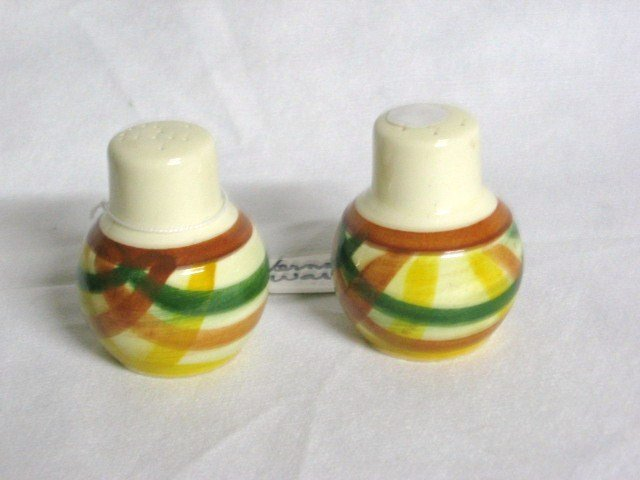 Vernon ware Salt & Pepper Shakers