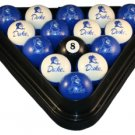 Duke - Collegiate Licensed Billiard Ball Set