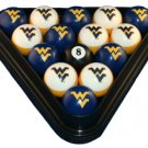 West Virginia - Collegiate Licensed Billiard Ball Set