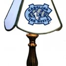 "North Carolina, University of - Collegiate Licensed Stained Glass 8.5"" Table Lamps"