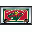 Wild - NHL Framed Team Logo Mirror