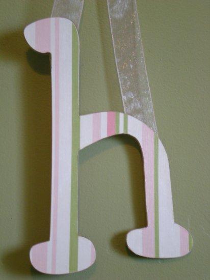 Custom Design Wood Letters - Choose Your Design, Font, Size, Hanger