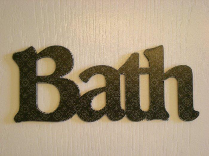 Custom Design Connected Wood Letters - Choose Your Design, Font, Size, Hanger
