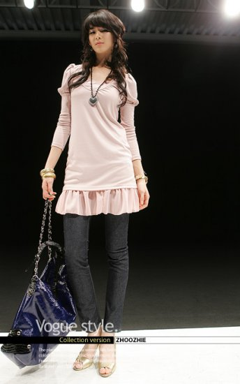 Japan Baby Pink Cotton Top--SOLD OUT