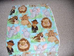 Baby Animal Baby Blanket