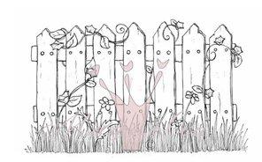 Shabby Chic Staket / Shabby Chic Fence