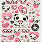 Kawaii Japanese San-X Tarepanda Stickers - Pink Heart