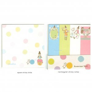 Sticky notes - Kawaii Kamio Romantique Soleil 75 pcs  - Knitting