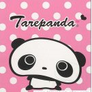 San-X Tarepanda 100 sheets Small Memo Pad White Polka Dot
