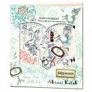 Shinzi Katoh Sticker Pack - Usagi Alice in Wonderland