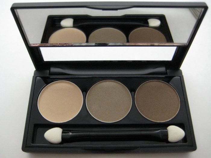 NYX Trio Eyeshadow #03 NUDE - TAUPE - DARK BROWN