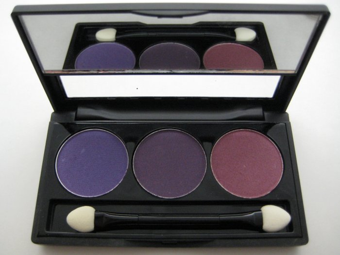 NYX Trio Eyeshadow #06 PURPLE - DEEP PURPLE - PRUNE