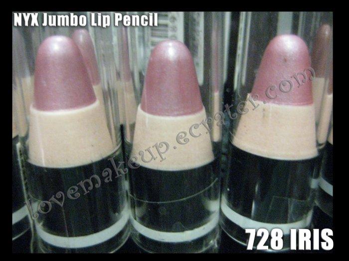 NYX Jumbo Pencil LIPSTICK #728 IRIS
