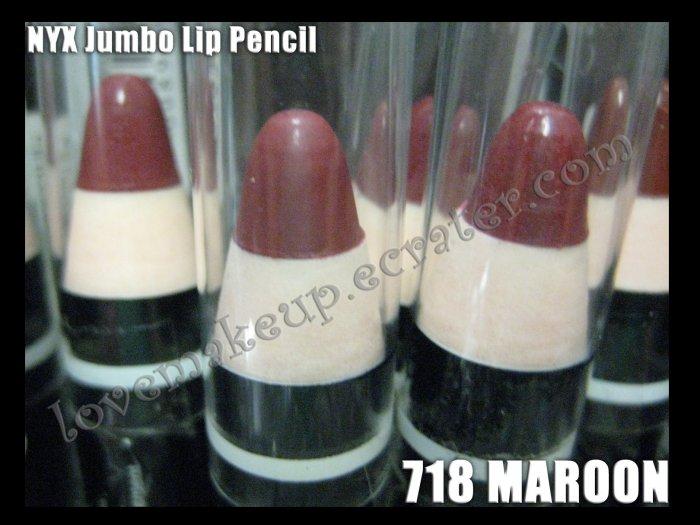 NYX Jumbo Pencil LIPSTICK #718 MAROON