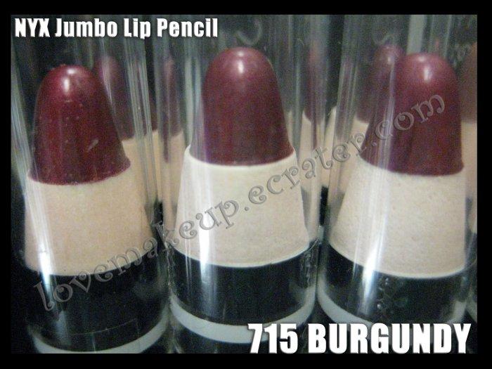 NYX Jumbo Pencil LIPSTICK #715 BURGUNDY