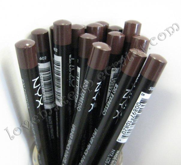 NYX Slim Pencil LIP LINER 820 ESPRESSO