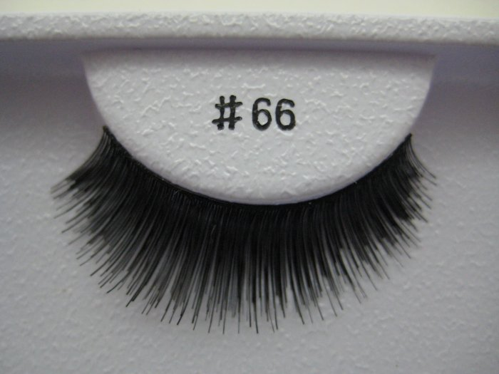 FALSE EYELASHES 66 [Comparable to MAC]