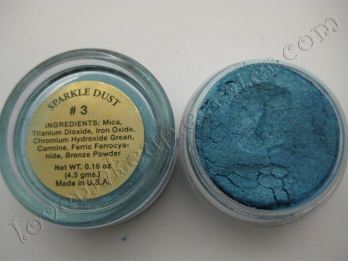 La Femme SPARKLE DUST #3 AQUA (Comparable to Napoleon Perdis and MAC)