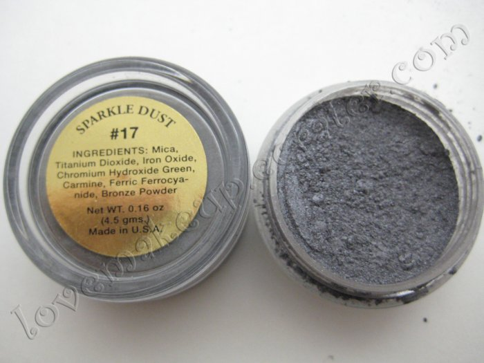 La Femme SPARKLE DUST #17 CHARCOAL (Comparable to Napoleon Perdis and MAC)