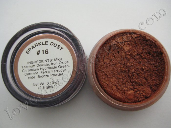 La Femme SPARKLE DUST #16 COPPER (Comparable to Napoleon Perdis and MAC)