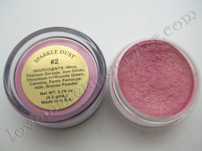 La Femme SPARKLE DUST #2 ROSE CHIFFON (Comparable to Napoleon Perdis and MAC)