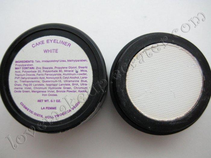La Femme CAKE EYE LINER - WHITE