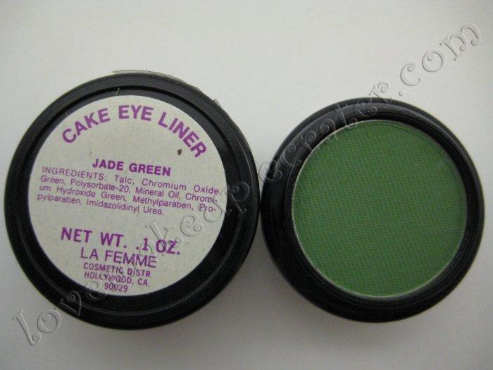 La Femme CAKE EYE LINER - JADE GREEN