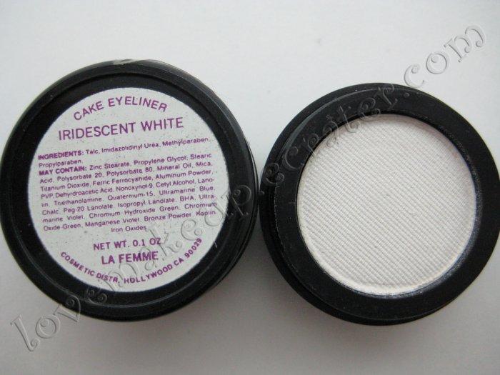 La Femme CAKE EYE LINER - IRIDESCENT WHITE