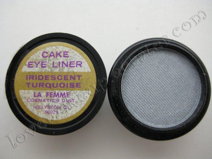 La Femme CAKE EYE LINER - IRIDESCENT TURQUOISE