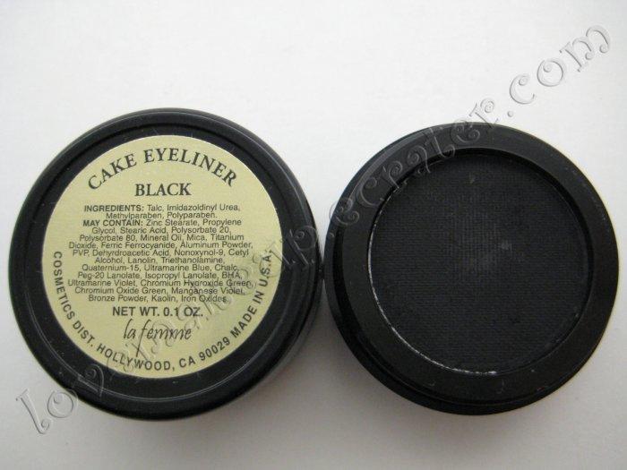 La Femme CAKE EYE LINER - BLACK