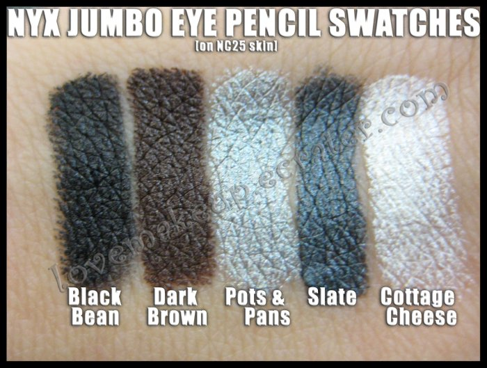 NYX Jumbo Eye EYESHADOW PENCIL - CHOOSE YOUR COLOR