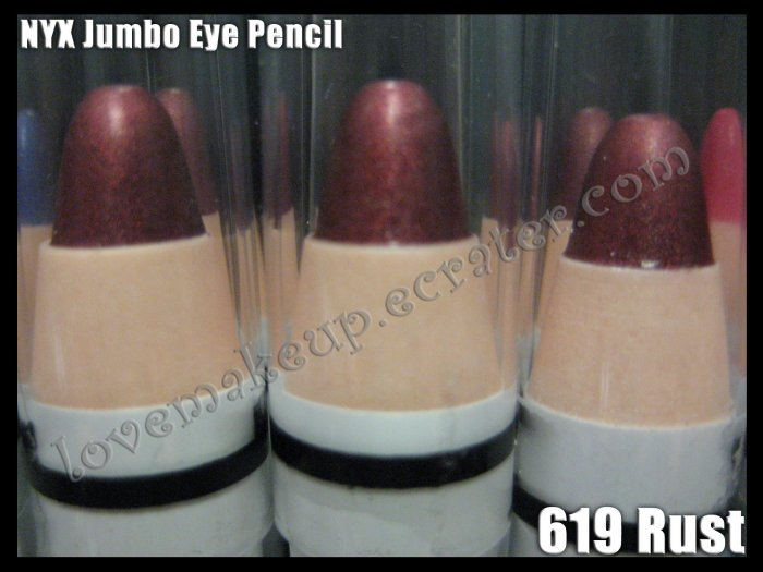 NYX Jumbo Eye EYESHADOW PENCIL 619 * RUST *