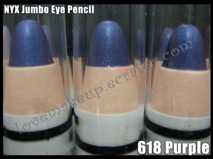 NYX Jumbo Eye EYESHADOW PENCIL 618 * PURPLE *