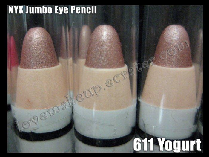 NYX Jumbo Eye EYESHADOW PENCIL 611 * YOGURT *