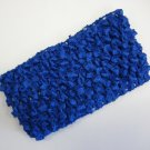 CROCHET HEADBAND *ROYAL BLUE* Stretchy Thick
