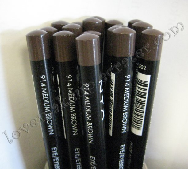 NYX Slim Pencil EYE LINER EYEBROW LINER 914 MEDIUM BROWN