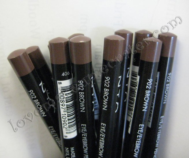 NYX Slim Pencil EYE LINER EYEBROW LINER 902 BROWN