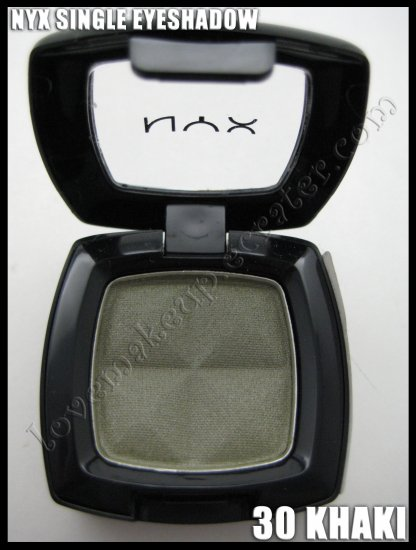 NYX Single EYESHADOW *30 KHAKI*