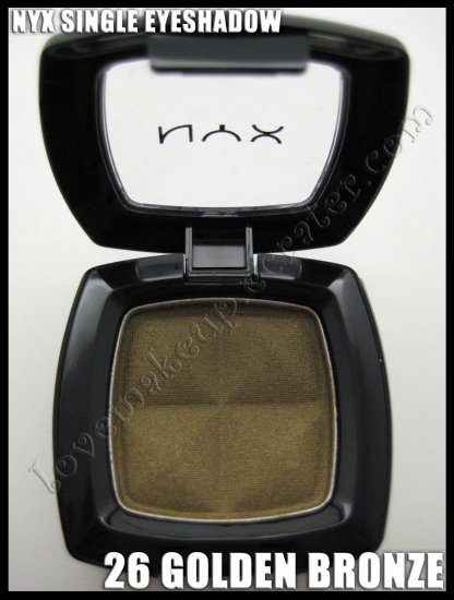 NYX Single EYESHADOW *26 GOLDEN BRONZE*