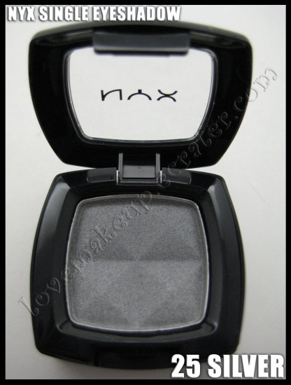NYX Single EYESHADOW *25 SILVER*