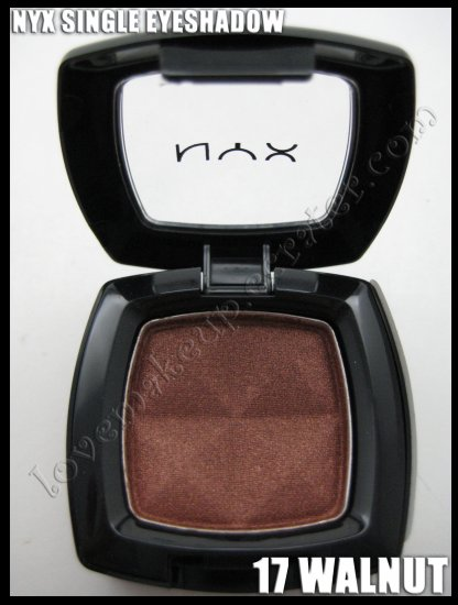 NYX Single EYESHADOW *17 WALNUT*