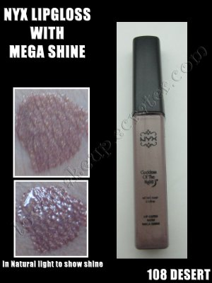 NYX Mega Shine Lip Gloss *108 DESERT*