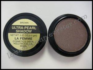 La Femme ULTRA PEARL EYE SHADOW - BROWN