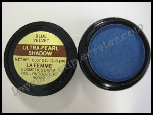 La Femme ULTRA PEARL EYE SHADOW - BLUE VELVET