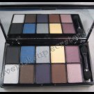NYX 10 COLOR EYESHADOW PALETTES Runway Collection - 01 Jazz Night