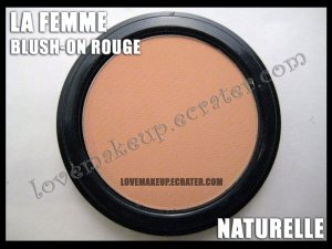 LA FEMME Blush-On Rouge - Naturelle