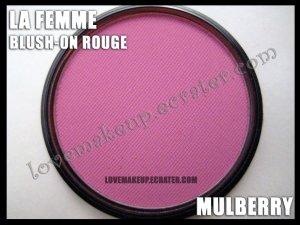 LA FEMME Blush-On Rouge - Mulberry