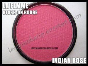 LA FEMME Blush-On Rouge - Indian Rose