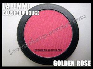 LA FEMME Blush-On Rouge - Golden Rose